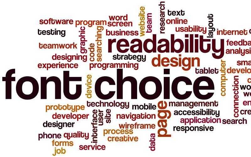 Come scegliere il font giusto per il materiale pubblicitario