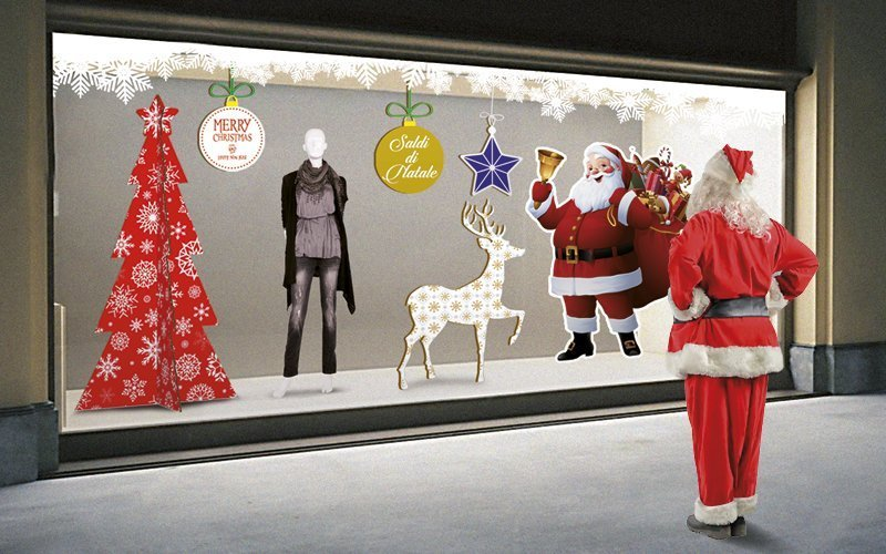 La vetrina perfetta per Natale: trucchi e consigli